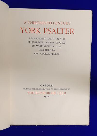 A Thirteenth Century York Psalter : A...