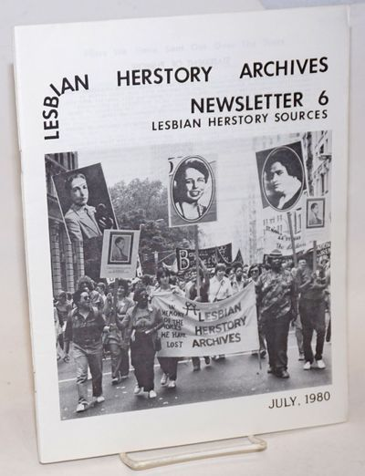 New York: Lesbian Herstory Archives, 1980. 26p., 8.5x11 inches, bibliography, articles, news, very g...