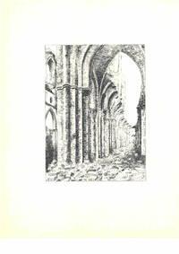 Ohne Titel [vermutlich Ostia, Rom, Italien; Ostia, Roma, Italia], ca. 1950. Schwarze Tusche und Bleistift auf weißem Papier.