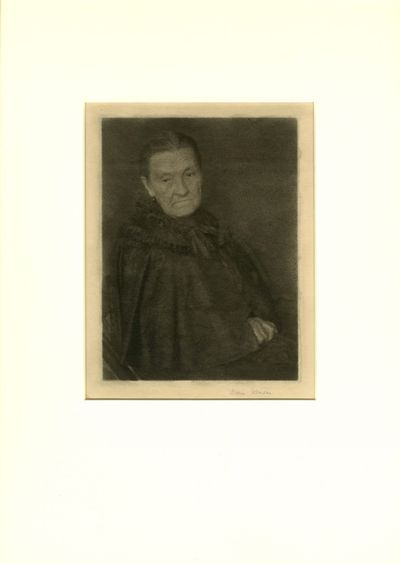 1926. Ulmann, Doris. Unique oil pigment print photograph, image size 8 x 6 in. mounted to tissue usi...