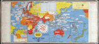 Dated Events War Map.  V-e Day Commemorating Victory in Europe May 8, 1945.