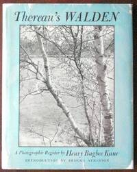 Thoreau's Walden: A Photograp[hic Register by Kane, Henry Bugbee - 1946