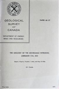The Geology of the Michikamau Intrusion, Labrador (13l, 23i).