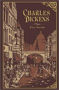 Charles Dickens: Five Novels (Leatherbound Classic Collection)