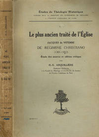 LE PLUS ANCIEN TRAITE' DE L'EGLISE by H.X. ARQUILLIERE - 1926 - from Controcorrente Group srl BibliotecadiBabele and Biblio.com
