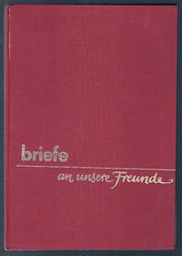 Briefe: an unsere freunde, 1973 (German text) by Editor - 1973