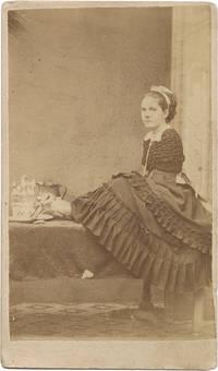 image of [Carte de visite (CDV) of Armless Wonder Ann E. Leak]