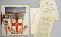 PROGRAMME: Festival Dinner 1923 The Royal Society of St. George Founded 1894