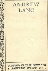 THE AUGUSTAN BOOKS OF MODERN POETRY: ANDREW LANG