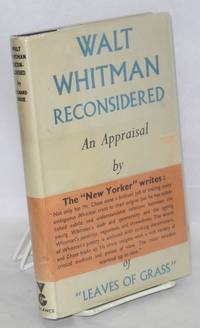Walt Whitman reconsidered