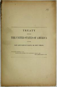 TREATY BETWEEN THE UNITED STATES OF AMERICA AND THE SANS ARCS BAND OF DAKOTA OR SIOUX INDIANS. CONCLUDED OCTOBER 20, 1865. RATIFICATION ADVISED, WITH AMENDMENT, MARCH 5, 1866. PROCLAIMED MARCH 17, 1866