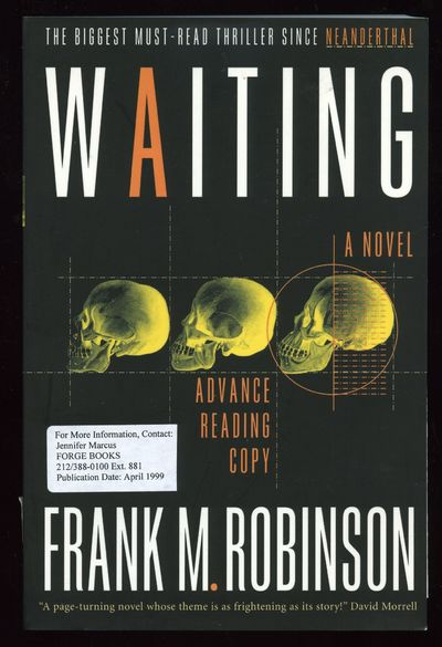 New York: Forge, 1999. Softcover. Fine. First edition, Advance Reading copy with publisher's letter ...