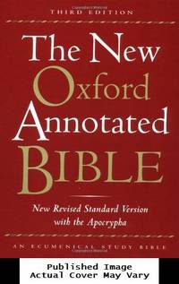 image of The New Oxford Annotated Bible, New Revised Standard Version with the Apocrypha, Third Edition (Hardcover 9700A)