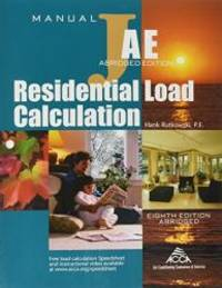 RESIDENTIAL LOAD CALCULATION M