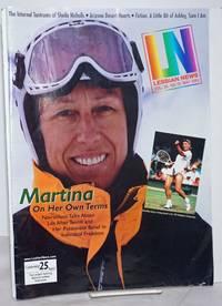 image of LN: the Lesbian News; vol. 25, #10, May 2000; Martina Navratilova on her own terms
