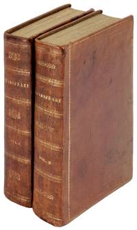 The Dramatic Works of William Shakspeare [Shakespeare], Accurately Printed from the Text of the Corrected Copy Left by the Late George Steevens, Esq. with a Glossary, and Notes, and a Sketch of the Life of Shakespeare. Two Volumes