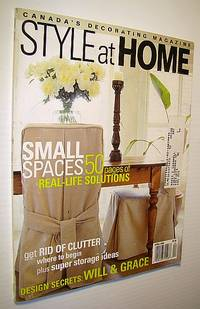 Style At Home Canada 39 S Decorating Magazine April 2000