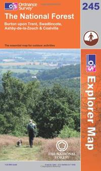 The National Forest (OS Explorer Map) by Ordnance Survey - Paperback - from World of Books Ltd and Biblio.com