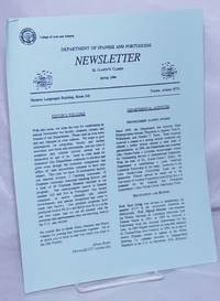 image of El Clarín/O Clarim: Department of Spanish_Portuguese Newsletter: [#1] Spring 1994