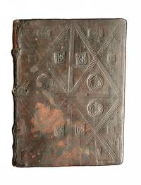 COMPLETE HAND-RUBRICATED INCUNABULA IN ORIGINAL BLINDSTAMPED WOODEN BINDING:  Dialogorum libri quattuor