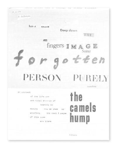 Albuquerque, NM, 1965. leaves. Quarto. Stapled mechanically reproduced decorated typescript. Margins...