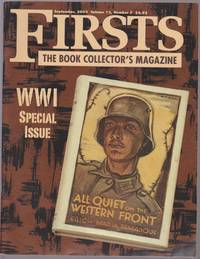 Three Issues Of \'Firsts\' With Reference Material For Collecting WWI And WWII Books