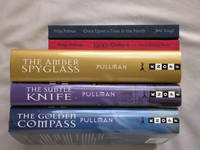 5 Book signed hc/dj Set: His Dark Materials Set: The Golden Compass, The Subtle Knife, The Amber Spyglass, Lyra's Oxford, Once Upon a Time in the North by  Philip Pullman - Signed First Edition - from Mind Electric Books (SKU: 010674)