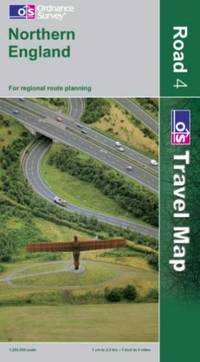 image of Northern England (OS Travel Map - Road) (OS Travel Map - Road Map)
