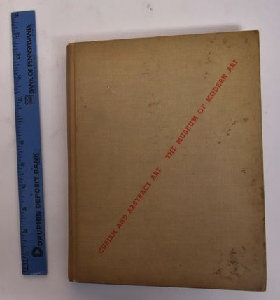 New York: Museum of Modern Art, 1936. Origianl Edition April 1936. Hardcover. VG a solid and tight, ...