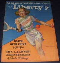 image of Vintage Issue of Liberty Magazine for August 26th 1939 Cover Art by R. C.  Kauffmann