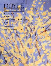 image of Doyle New York : Modern and Contemporary Art, European and American Art: December 3, 2003