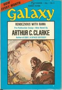 "GALAXY Science Fiction: September, Sept. 1973 (""Rendezvous with Rama"")"