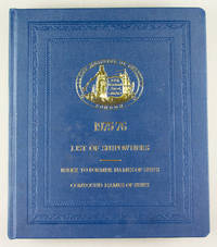 1975-1976 List of Shipowners. Index to Former Names of Ships. Compound Names of Ships.