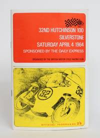 image of 32nd Hutchinson 100 Silverstone, Saturday April 4 1964: Official Program