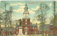 Barry Monument and Independence Hall, Philadelphia, Pa, early 1900s used Postcard