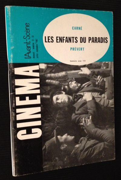 Paris: L'Avant-Scene Du Cinema, 1967. 1st. Original Wraps. Collectible; Very Good. L'Avant-Scene No....