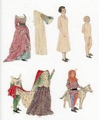 Watercolor Paper Dolls - Members of the Royal Court - w 1 Costume for 2 Dolls [Made by Hand, Paper Doll, Pretend Play, Royalty]