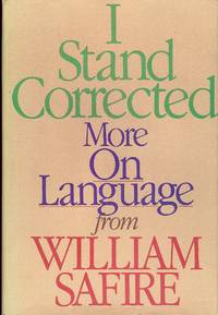 I STAND COLLECTED: MORE ON LANGUAGE
