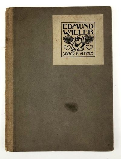 Sussex: The Pear Tree Press, 1902. First edition. First edition. Original holland backed, light brow...