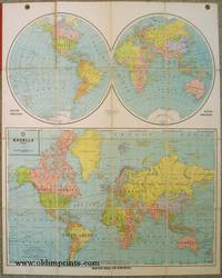Mercator World and Hemispheres. Excello Series