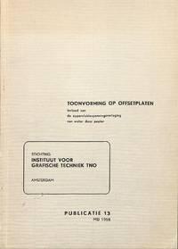 Publicatie 13/Mei 1958: Toonvorming Op Offsetplaten, Invloed Van De  Oppervlaktespanning Van Water Door Papier.