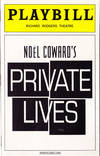 image of Private Lives -- Playbill 2002 Richard Rodgers Theatre