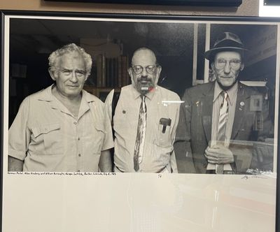 Boulder, CO, 1985. Limited Edition, #1/6. Photograph of Norman Mailer, Alan Ginsburg, & William S. B...