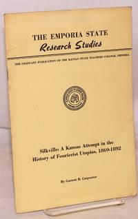 Silkville: a Kansas attempt in the history of Fourierist utopias, 1869-1892