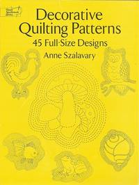 image of Decorative Quilting Patterns:  45 Full-Size Designs