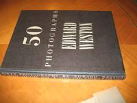Edward Weston: Fifty (50) Photographs (In Dust Jacket; Initialed By Weston)