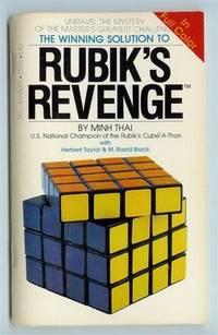 The Winning Solution to Rubik's Revenge by  M. Razid  Herbert; Black - Paperback - First Edition - 1982 - from Shannon's Bookshelf and Biblio.com