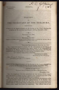 [drop-title] Report of the Secretary of the Treasury, communicating a report of the Survey of the Coast, showing the progress of the work during the year ending November, 1844. December 23, 1844. Read. December 26, 1844.