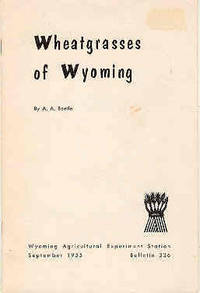 Wheatgrasses of Wyoming Bulletin 336