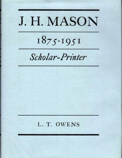 London: Frederick Muller Limited, 1976. First edition. Hardcover. Orig. black cloth. Fine in fine du...